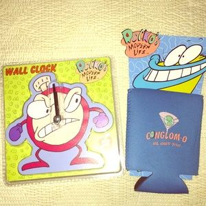 The Nick Box Rocko's Modern Life clock coozy